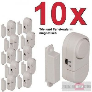 10 x Fensteralarm WKZ16/10 - Türalarm im Set
