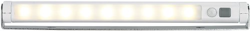 Lunartec Automatische LED-Lichtleiste mit Bewegungssensor, warmweiß
