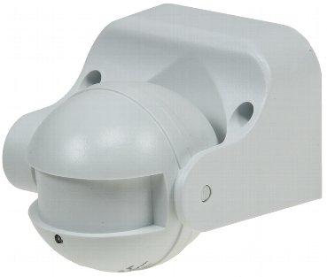 """Aufputz Bewegungsmelder """"CBM HF"""" 180° LED geeignet, IP44, 1-1200W, weiß"""