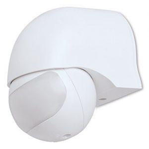 MANAX® IR Bewegungsmelder - schwenkbar, Erfassungswinkel 180°, IP44, weiß