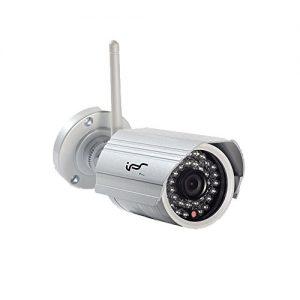 IPS 720P Drahtlos Zuhause Sicherheitskamera Außengewehrkugel-Überwachungskamera mit Smart Alerts und Nachtsicht, IP kamera IPS-KI-B (Built-in 8G SD-Karte)