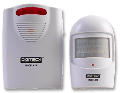 digiteck 615 hofeinfahrt alarm drahtlos kabellos intruder alarm alarmanlagen tests. Black Bedroom Furniture Sets. Home Design Ideas