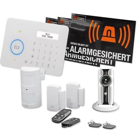 ELV Funk-Alarmanlage FAZ 5000 mit WLAN-IP-Netzwerkkamera
