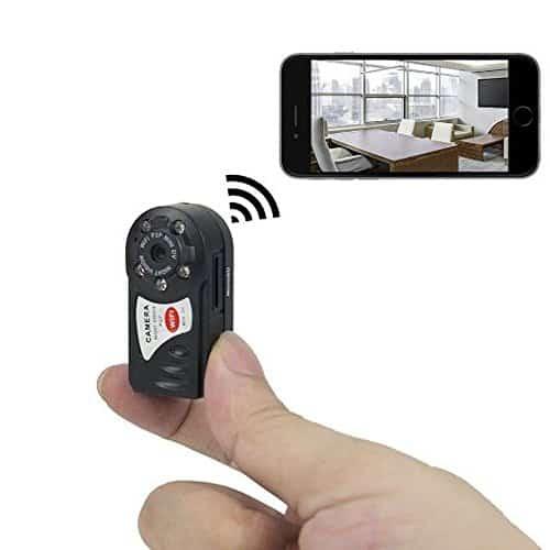 Tangmi Mini P2P WiFi IP-Kamera HD DVR versteckte Spion-Kamera-Videogerät - Innen / Außen Sicherheits-Support iPhone / Android Phone / iPad / PC