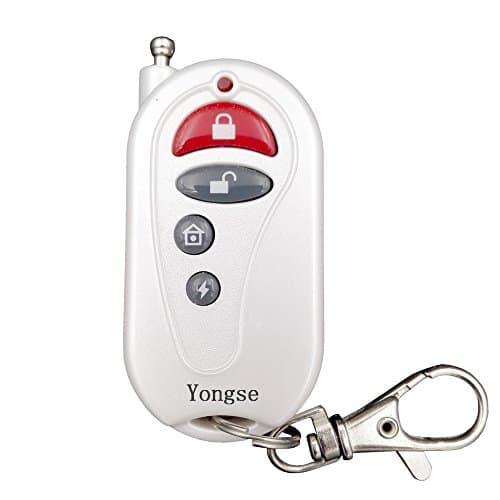 Yongse Fernbedienung für Funk Alarmanlagen, Weiß