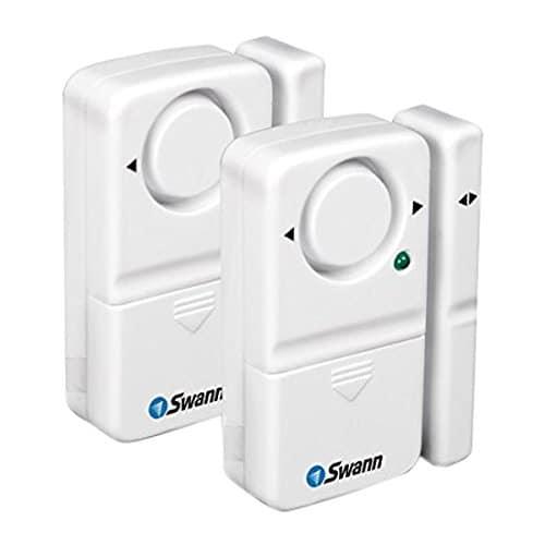 Swann Magnetischer Tür- und Fensteralarm, 110 dB, 2-teilig