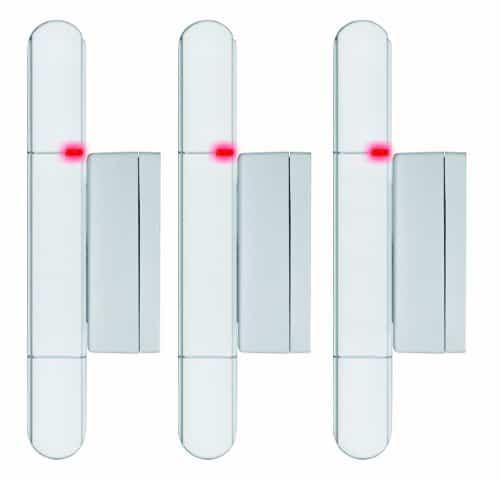 Olympia 5907 Tür-/ Fensterkontakt - 3 Stück für alle Olympia Alarmanlagen Modell Protect Serie