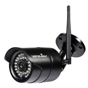 Wansview IP Kamera Aussen / Sicherheitskamera für Außen / HD Überwachungskamera / HD IP cam mit LAN & Wlan / Wifi für Outdoor (720P)