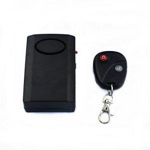 ctronics 120db aktiviert - Anti - Diebstahl - Alarmanlage mit Fernbedienung Schlüsselanhänger für Türen, Fenster - Sicher