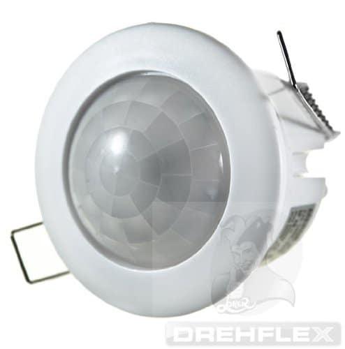 Drehflex® Decken-Einbau-Bewegungsmelder 360° 230V/1200W, UP, LED geeignet!!!
