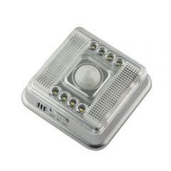 Neu! Auto Sensor PIR 8-LED-Leuchte / Lampe Bewegungsmelder