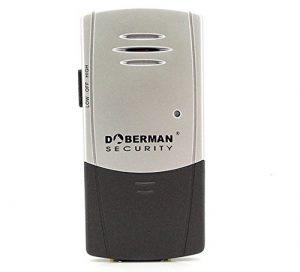 WER Haushalt Anti-Diebstahl-Fenster / Tür-Sensor Alarm Anti-Diebstahl-Tür magnetische Induktion Feder super laute Alarm