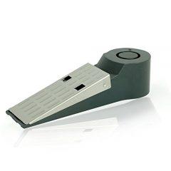 Türstopper Alarm Alarmanlage - Elektronisch - Batterie enthalten - Türkeil - 120dB - Batterie Kontroll Licht - Einbruchschutz Tür - Home Security