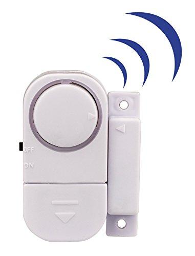 Tür- Fenster- oder Vitrinenalarm mit schrillen 90 dB lauten Alarm zum Schutz vor Dieben und Einbrechern, ohne verkabeln,16 Stück von Kobert-Goods