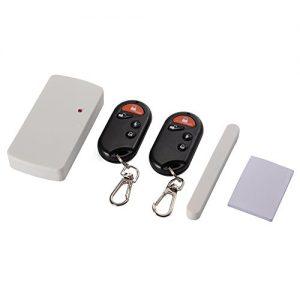 XCSOURCE ® Smart Home Magnetsensor Alarm Tür Fenster Eintrag Warnung Fernbedienung Sicherheit Anti-Diebstahl BI433