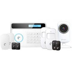 eTIGER S4-CV-EU Combo Vid secual drahtlos Sicherheitssystem mit Sender GSM/PSTN inkl. HD-Kamera für iOS/Android
