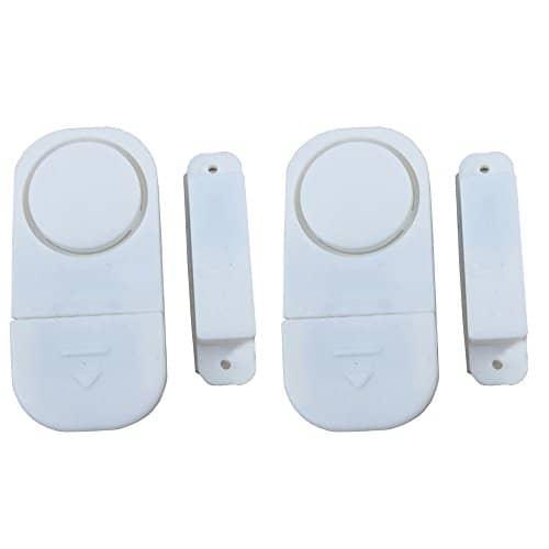 WER Drahtlose Tür/Fenster Einbrecher DIY Sicherheits-Alarm-System Magnetsensor(2 Stück)