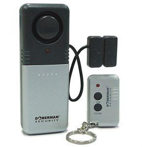 WER Haushalt Anti-Diebstahl-Fenster / Tür-Sensor Alarm Anti-Diebstahl-Tür magnetische Induktion Feder super lauter Alarm