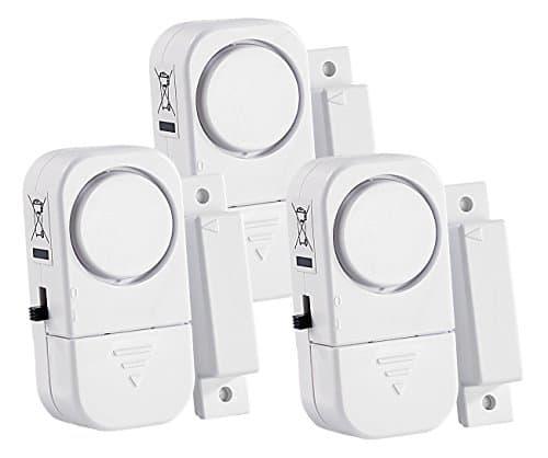VisorTech Mini Tür- und Fensteralarm im 3er-Pack