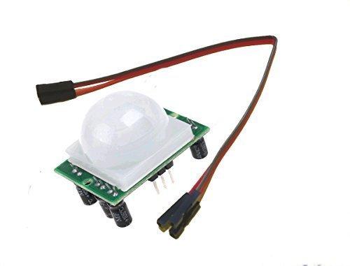 PIR-Bewegungsmelder Alarmerkennung Modul für Raspberry Pi2, Modell B + oder Arduino. Kommt mit 3 GPIO-Kabel