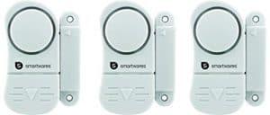 Smartwares Mini Tür und Fensteralarm im 3-er Pack, SW SC07/3