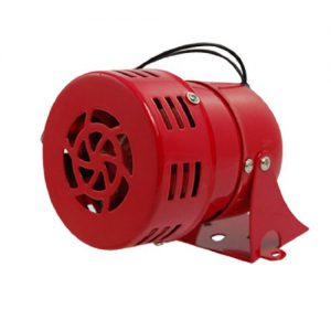 AC 220 V rot Metall Motor Driven Air Horn Alarm Sirene RAID
