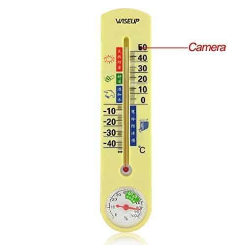 Wiseup 4GB Spion Kamera Thermometer Bewegung Aktivierte Videogerät Mini DVR Sicherheits Camcorder