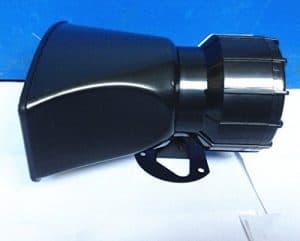 ETGtek 1pcs 100W DC12V 4 Sounds Lautsprecher Auto oder Motorrad Warnung Sirene Alarm Police Ambulance Lautsprecher mit Wireless Remote Control