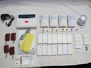 Generic Drahtloses Sicherheitssystem / Alarmanlage, 14 Sensoren für Türen und Fenster, PIR-Bewegungssensoren