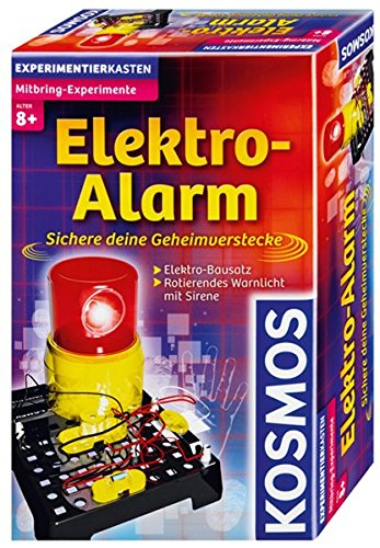 kosmos 659172 experimentierset elektro alarm alarmanlagen tests. Black Bedroom Furniture Sets. Home Design Ideas