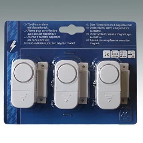 Smartwares Tür- und Fensteralarm (3er Set)