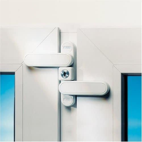 Burg Wächter Fenstersicherung weiß WD 3 W SB, Herstellerbestellnummer: 302514