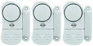 Elro SC07/3 Mini Tür und Fensteralarm im 3er-Pack