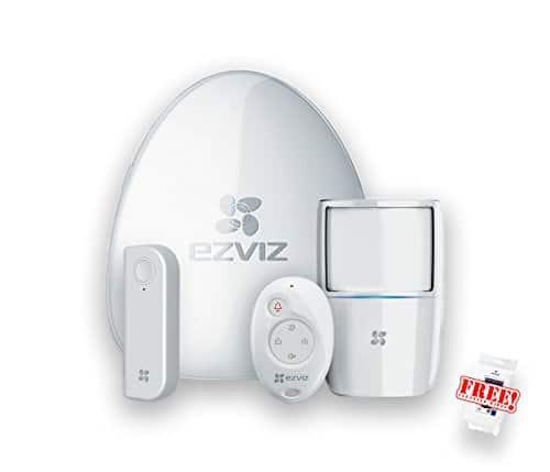 WiFi Überwachungssystem EZVIZ A1 Starter Kit Alarmzentrale Bewegungsmelder Tür und Fenstersensor Funk Handsender