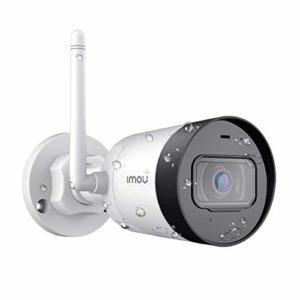 Imou Überwachungskamera Aussen WLAN IP Kamera, 1080P Wetterfeste IP67 erstklassige IP WLAN-Kugelkamera mit externer Antenne, eingebautem Mikrofon, Bewegungserkennung & Nachtsicht